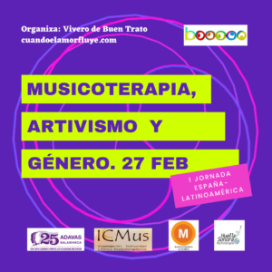 musicoterapia artivismo igualdad buentrato